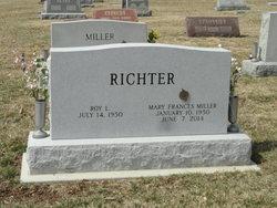 Mary Frances <I>Miller</I> Richter