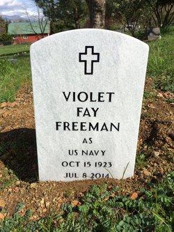 Violet Fay Freeman