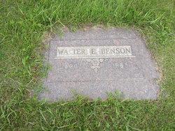 Walter E. Benson