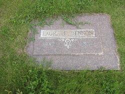 Laura E. <I>Robertson</I> Benson