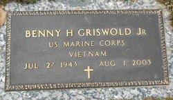 Benny Griswold, Jr