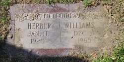 Herbert J Williams