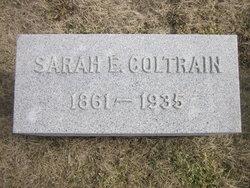 Sarah Ellen <I>Hampton</I> Coltrain