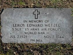 Leroy Edward Wetzel