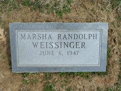 Marsha Randolph Weissinger