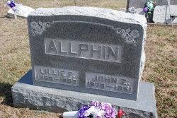 Florence Lillie <I>Pickel</I> Allphin