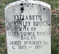 Elizabeth <I>McKinley</I> Brock
