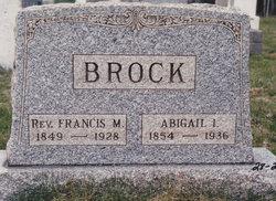 Abigail I. <I>Brown</I> Brock