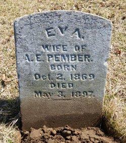 Eva <I>Haskins</I> Pember