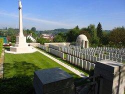 Saint Hilaire Cemetery, Frevent