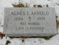 Agnes Elizabeth <I>Merkel</I> Arnold