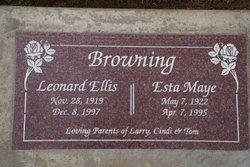 Esta Maye <I>Kinkade</I> Browning