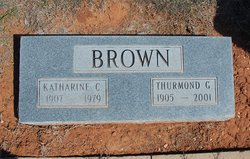 Katharine Johnnie <I>Chism</I> Brown