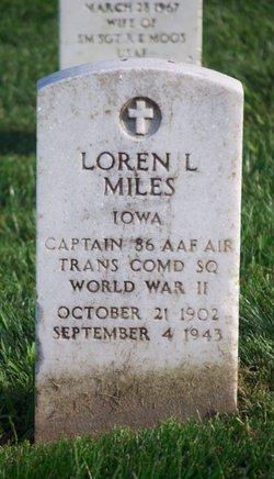 Loren L Miles