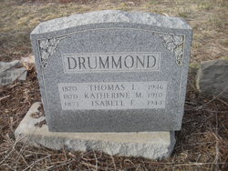 Thomas Larcombe Drummond, Sr