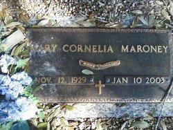 "Mary Cornelia ""Connie"" <I>Bagwell</I> Maroney"