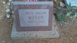 Betty Jane <I>Dalton</I> Mason