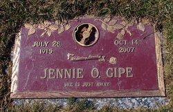 Jennie Oma <I>Hocker</I> Gipe