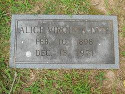 Alice Virginia Tate