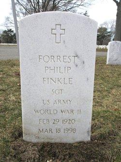 Sgt Forrest Philip Finkle