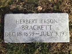 """Herbert Ierson """"H I"""" Brackett"""