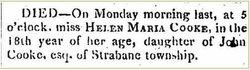 Helen Marie Cooke