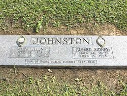 Mary Ellen <I>Fisher</I> Johnston