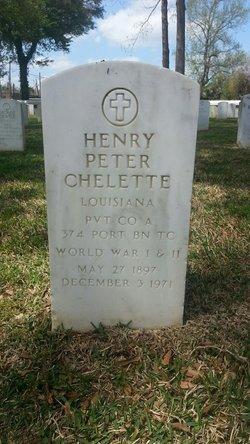Henry Peter Chelette