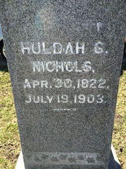 Hulda Gertrude <I>Barry</I> Nichols