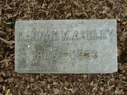 Hannah Mary <I>Wake</I> Ashley