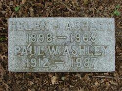 Helen J. <I>Tabor</I> Ashley