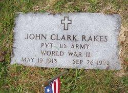 Pvt John Clark Rakes