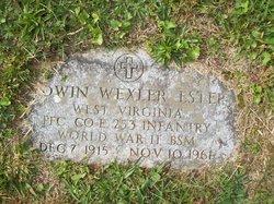 PFC Edwin Wexler Estep