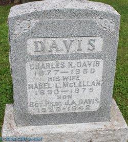 Mabel L. <I>McLellan</I> Davis
