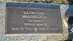 David Earl Mansfield, Sr