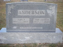 Jane P Anderson