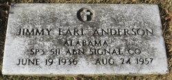 Jimmy Earl Anderson