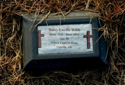Haley Lucille <I>Hicks</I> Babb