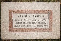 """Maxine """"Jay"""" <I>Gilliam</I> Arneson"""