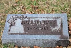 Willa <I>Huffman</I> Harrison