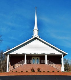 New Cypress Baptist Church Cemetery