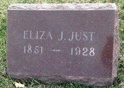 Eliza Jane <I>Kellenberger</I> Just