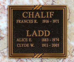 Clyde W. Ladd