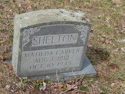 Matilda <I>Carver</I> Shelton