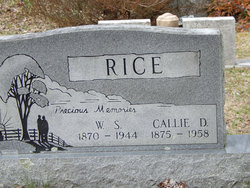 "Caldonia ""Callie"" <I>West</I> Rice"