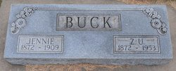 "Zadoc Ufferd ""Zed"" Buck"