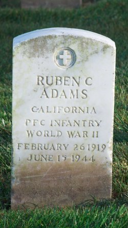 Ruben C Adams
