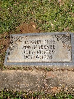 Harriet <I>Dilts</I> Hubbard