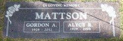 Gordon Arthur Mattson