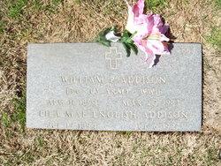 LTC William Porter Addison, Sr